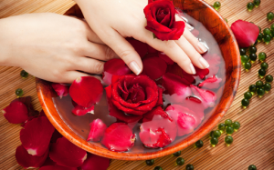 Application of Rose water